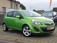 USED 2012 12 VAUXHALL CORSA 1.2 SXI AC 5d 83 BHP AS ALWAYS ALL CARS FROM EDINBURGH CAR STORE COME WITH 1 YEARS FULL MOT ,1 FULL RAC INSPECTION SERVICE AND 6 MONTH RAC WARRANTY INCLUDING  12 MONTHS RAC BREAKDOWN RECOVERY FREE OF CHARGE!      PLEASE CALL IF YOU DONT SEE WHAT YOUR LOOKING FOR AND WE WILL CHECK OUR OTHER BRANCHES.  WE HAVE  OVER 100 CARS IN DEALER STOCK