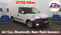 2016 FIAT DOBLO 1.2 16V SX MULTIJET  90 BHP. Low Mileage, 37112 Miles, Air Con, Bluetooth, Rear Parking Sensors, Front Fogs, Electric Pack and more.... £5980.00