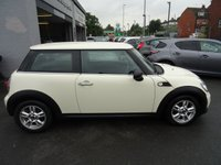 USED 2013 63 MINI HATCH ONE 1.6 ONE D 3d 90 BHP £0 ROAD TAX AND EXCELLENT FUEL EFFICIENCY