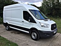 USED 2015 65 FORD TRANSIT 2.2 350 H/R P/V 1d 124 BHP SECURITY LOCKS High Security Locks, New MOT and Just Serviced