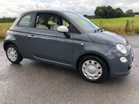 2012 FIAT 500 COLOUR THERAPY £3995.00