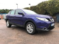 USED 2016 16 NISSAN QASHQAI 1.5 DCI ACENTA SMART VISION 5d WITH ONLY 11,000 MILES  NO DEPOSIT  PCP/HP FINANCE ARRANGED, APPLY HERE NOW