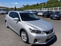 USED 2012 12 LEXUS CT 1.8 200H SE-L 5d AUTO 136 BHP Only 28,500 miles with service history & very high spec