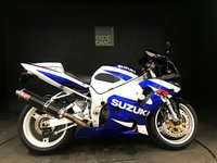 USED 2002 02 SUZUKI GSXR 750 K2. SERVICED. 18762 MILES. LOADS OF EXTRAS. VERY TIDY