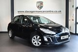 """USED 2011 61 PEUGEOT 308 1.4 ACTIVE 5DR 98 BHP full service history * NO ADMIN FEES * FINISHED IN STUNNING BLACK WITH CLOTH UPHOLSTERY + FULL SERVICE HISTORY + CRUISE CONTROL  + AIR CONDITIONING + ELECTRIC MIRRORS + 16"""" ALLOY WHEELS"""
