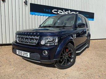 2015 LAND ROVER DISCOVERY 4 3.0 SDV6 HSE 5d AUTO 255 BHP £23491.00