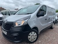 USED 2015 15 RENAULT TRAFIC 1.6 SL27 BUSINESS PLUS DCI 115 BHP NO VAT  A/C ETC SUPERB VALUE NEW SHAPE !!!!