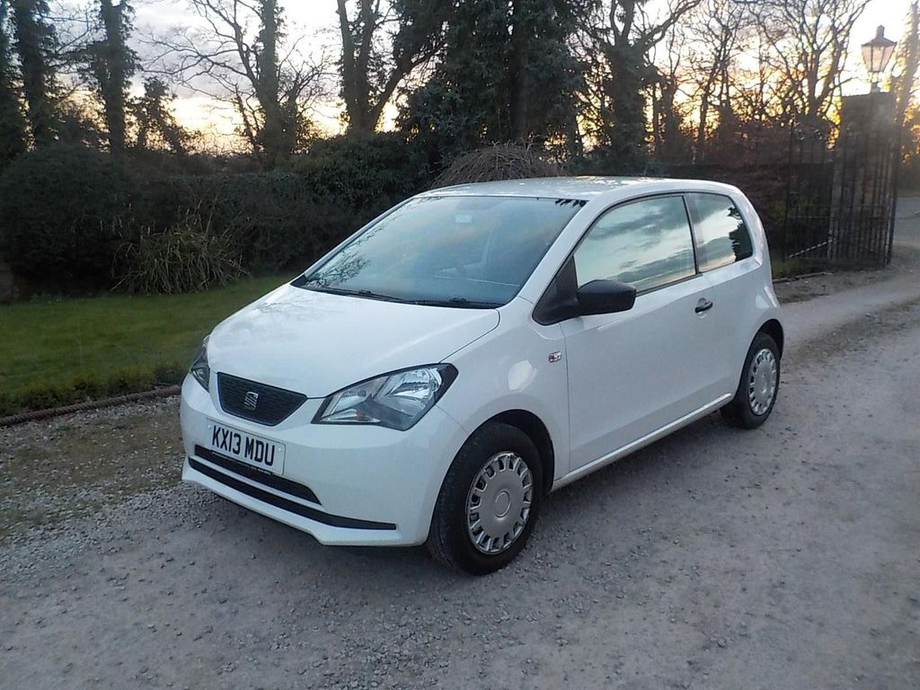 USED 2013 13 SEAT MII 1.0 12v S 3dr Low miles Air con model