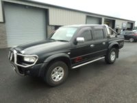USED 2005 05 MAZDA B SERIES 2.5 B2500 DCB 4X4 1d LOW MILES NO VAT LEATHER
