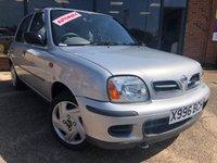 2000 NISSAN MICRA 1.3 S 5d AUTO 81 BHP £2221.00