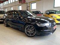 USED 2015 15 AUDI A6 3.0 AVANT TDI QUATTRO BLACK EDITION 5d AUTO 268 BHP