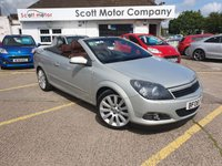 USED 2008 08 VAUXHALL ASTRA 2.0 TWIN TOP DESIGN 3d