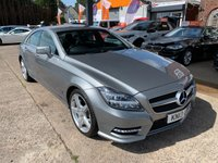 USED 2013 13 MERCEDES-BENZ CLS CLASS 3.0 CLS350 CDI BLUEEFFICIENCY AMG SPORT 4d AUTO 265 BHP