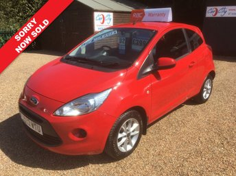 2013 FORD KA 1.2 EDGE 3d 69 BHP SOLD