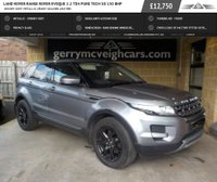 USED 2012 62 LAND ROVER RANGE ROVER EVOQUE 2.2 TD4 PURE TECH 5d 150 BHP Orkney Grey Metallic; Ebony Grained Leather;