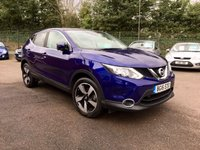 2016 NISSAN QASHQAI 1.5 DCI N-CONNECTA  5d  WITH SAT NAV AND REVERSING CAMERA  £11000.00