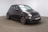 USED 2015 65 FIAT 500 0.9 TWINAIR S 3DR 85 BHP FREE 12 MONTHS ROAD TAX + HALF LEATHER SEATS + PARKING SENSOR + MULTI FUNCTION WHEEL + CLIMATE CONTROL + PRIVACY GLASS + ELECTRIC WINDOWS + ELECTRIC MIRRORS + 17 INCH ALLOY WHEELS