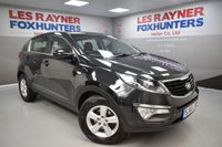 USED 2015 65 KIA SPORTAGE 1.7 CRDI 1 ISG 5d 114 BHP Full Service history, Cruise control, Bluetooth, Air conditioning
