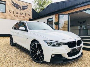 2016 BMW 3 SERIES 3.0 335D XDRIVE M SPORT TOURING 5d AUTO 308 BHP £16990.00