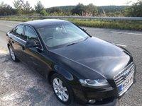 USED 2009 58 AUDI A4 2.0 TDI SE 4d 143 BHP