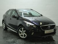 USED 2016 16 VOLVO V40 2.0 D2 CROSS COUNTRY LUX 5d 118 BHP FULL LEATHER + 1 OWNER + SERVICE HISTORY
