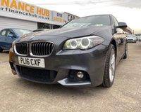 2016 BMW 5 SERIES 2.0 520D M SPORT 4d AUTO 188 BHP POA