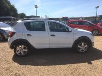USED 2014 14 DACIA SANDERO 1.5 STEPWAY AMBIANCE DCI 5d 90 BHP FULL SERVICE HISTORY - FINANCE AVAILABLE