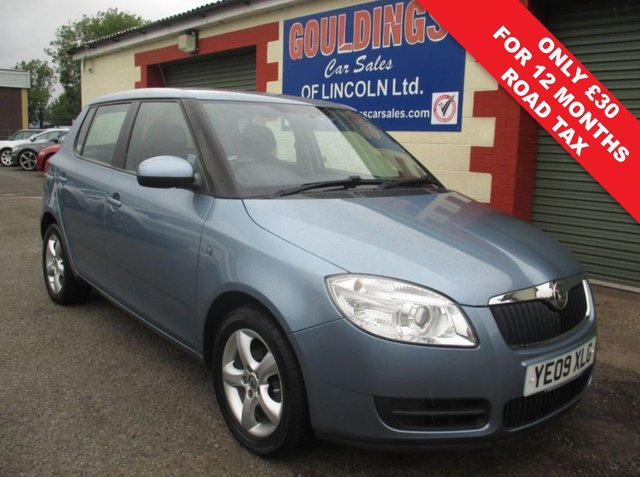 USED 2009 09 SKODA FABIA 1.4 LEVEL 2 TDI 5d 79 BHP 9 SERVICE STAMPS - ONLY 13,704 MILES FROM NEW