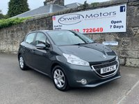 USED 2014 14 PEUGEOT 208 1.4 HDI ACTIVE 5d 68 BHP LOW MILEAGE+FINANCE AVAILABLE+LOW INSURANCE COSTS