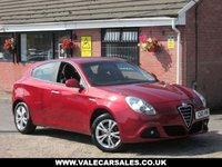 USED 2011 11 ALFA ROMEO GIULIETTA 2.0 JTDM-2 LUSSO (BLUETOOTH+LEATHER) 5dr BLUETOOTH AND FULL LEATHER INTERIOR