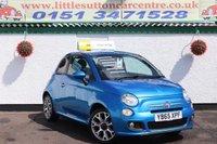 2015 FIAT 500 1.2 S 3d 69 BHP £5400.00