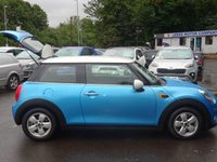 USED 2017 17 MINI HATCH COOPER 1.5 COOPER 3d 134 BHP 1 OWNER LOW MIELAGE FSH EXAMPLE