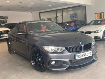 2015 BMW 4 SERIES GRAN COUPE 2.0 420D M SPORT GRAN COUPE 4d AUTO 188 BHP £18990.00