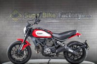 USED 2017 66 DUCATI Scrambler 800 ALL TYPES OF CREDIT ACCEPTED. GOOD & BAD CREDIT ACCEPTED, 1000+ BIKES IN STOCK