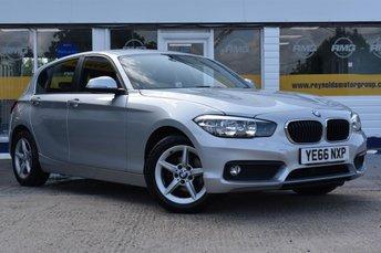 2016 BMW 1 SERIES 1.5 116D ED PLUS 5d 114 BHP £11999.00