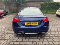 USED 2015 15 AUDI TT 2.0L TFSI QUATTRO S LINE 2d 227 BHP B+O Sound, Lane Assist, FSH, Warranty, Finance, NEW MOT