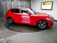 USED 2012 12 BMW 1 SERIES 2.0 118D SPORT 5d 141 BHP £0 DEPOSIT FINANCE AVAILABLE, AUX INPUT, AIR CONDITIONING, BLUETOOTH CONNECTIVITY, CLIMATE CONTROL, DRIVE PERFORMANCE CONTROL, FM/AM RADIO, STEERING WHEEL CONTROLS, TRIP COMPUTER