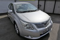 USED 2009 59 TOYOTA AVENSIS 1.8 TR VALVEMATIC 4d 145 BHP * HPI CLEAR - FULL HISTORY *