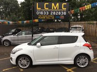 USED 2014 14 SUZUKI SWIFT 1.6 SPORT 5d 136 BHP STUNNING WHITE PAINT WORK, CHARCOAL CLOTH INTERIOR SPORTS TRIM, 17 INCH ALLOY WHEELS, CRUISE CONTROL, CD PLAYER, AIR CONDITIONING, IMMOBILISER, LOCAL OWNER, LOW MILEAGE, HOT HATCH