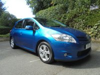 USED 2010 10 TOYOTA AURIS 1.6 TR VALVEMATIC MM 5d AUTO 132 BHP SUPPLIED WITH 12 MONTHS MOT