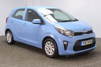 USED 2017 17 KIA PICANTO 1.2 2 5DR AUTO 1 OWNER 82 BHP FULL SERVICE HISTORY + BLUETOOTH + MULTI FUNCTION WHEEL + AIR CONDITIONING + RADIO/CD/USB + ELECTRIC WINDOWS + ELECTRIC MIRRORS +