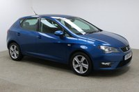 USED 2016 16 SEAT IBIZA 1.2 TSI FR 5d 109 BHP Finished in stunning blue is this Seat Ibeza + 1 OWNER + FULL SERVICE HISTORY + £30 ROAD TAX + AIR CON