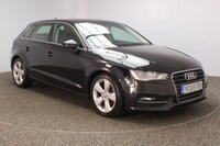 USED 2015 65 AUDI A3 2.0 TDI SPORT 3DR 1 OWNER 148 BHP FULL SERVICE HISTORY + CLIMATE CONTROL + MULTI FUNCTION WHEEL + DAB RADIO + ELECTRIC WINDOWS + ELECTRIC MIRRORS + ALLOY WHEELS