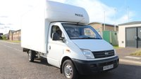 USED 2008 58 LDV MAXUS 2.5 EF LUTON 1d 120 BHP LOW DEPOSIT OR NO DEPOSIT FINANCE AVAILABLE