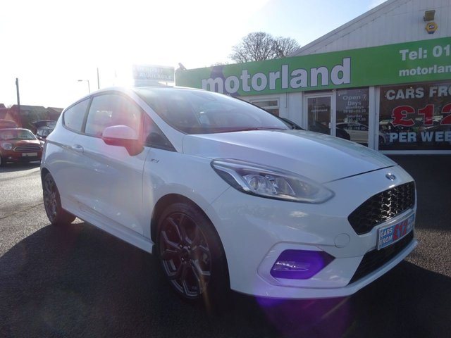 USED 2018 18 FORD FIESTA 1.0 ST-LINE 3d 124 BHP ** 1 OWNER FROM NEW **CALL 01543 877320**
