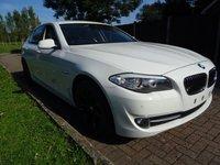 USED 2011 11 BMW 5 SERIES 2.0 520D SE 4d AUTO 181 BHP FULL SERVICE HISTORY