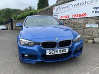 USED 2015 15 BMW 3 SERIES 2.0 320D XDRIVE M SPORT TOURING 5d AUTO 181 BHP FULL BMW SERVICE HISTORY+1 OWNER+LEATHER INTERIOR+FINANCE AVAILABLE