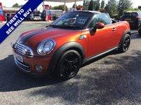 USED 2012 62 MINI ROADSTER 1.6 COOPER 2d 120 BHP