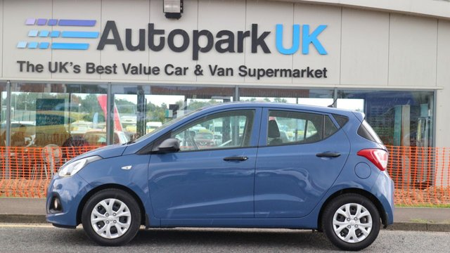 USED 2016 65 HYUNDAI I10 1.0 S BLUE DRIVE 5d 65 BHP LOW DEPOSIT OR NO DEPOSIT FINANCE AVAILABLE