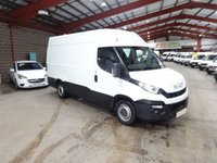 USED 2015 15 IVECO DAILY 2.3 35S13V 126 BHP MWB HI ROOF VAN '' YOU'RE IN SAFE HANDS  ''  WITH THE AA DEALER PROMISE